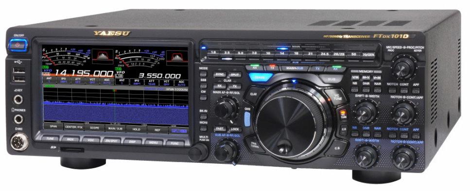 Продажа КВ-трансивера Yaesu FTDX-101D