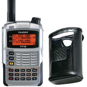 Портативная цифро-аналоговая радиостанция YAESU FT-1DR с чехлом CSC-97