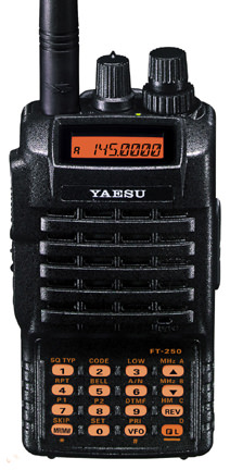 Портативная радиостанция YAESU FT-250/FNB-83/VAC-10