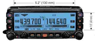 Любительская автомобильная и мото-радиостанция Yaesu FTM-350R/SR