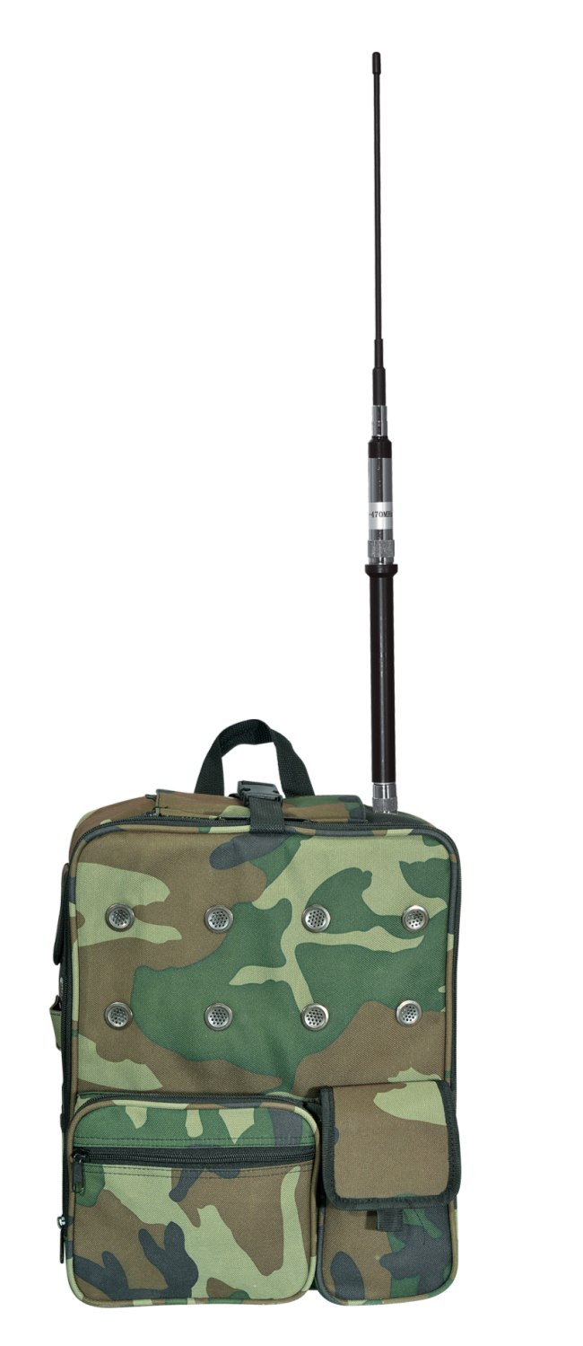 Радиостанция переносная RECENT RS-788 в рюкзаке